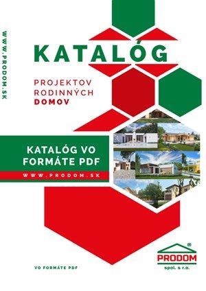 Aktuálne katalógy projektov rodinných domov vo formáte PDF