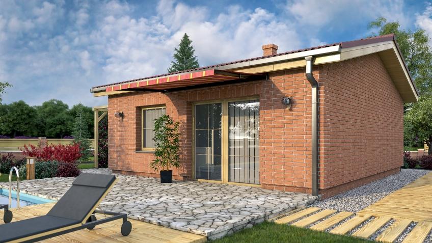 Výstavba drevodomov, drevostavieb je možná aj podľa našich projektov rodinných domov