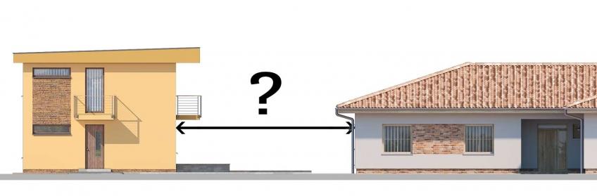 Aké odstupy od susedných stavieb je potrebné dodržať?