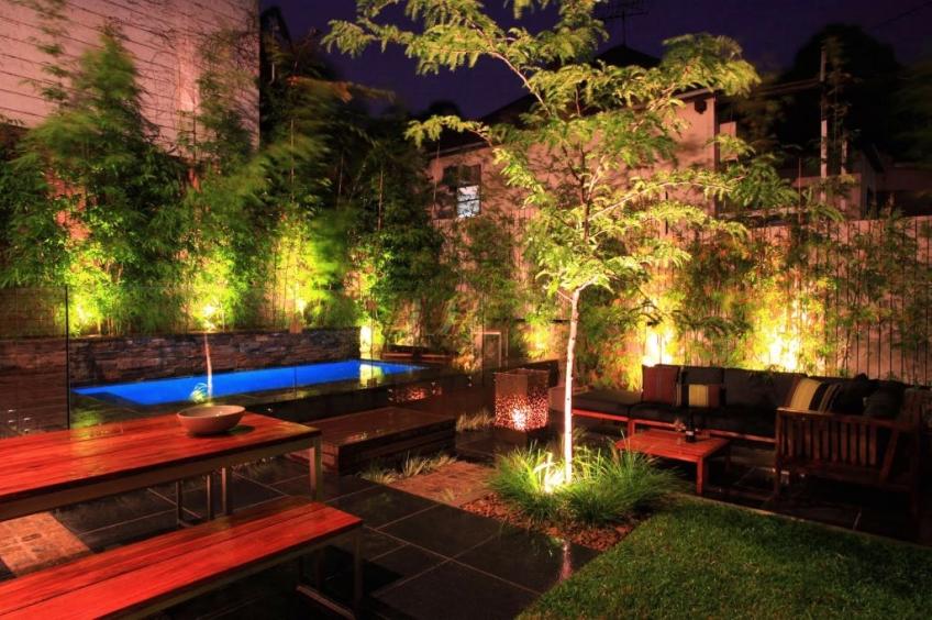 Aké osvetlenie je vhodné do záhrady