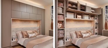 Projekty domov | Ako zariadiť malú izbu