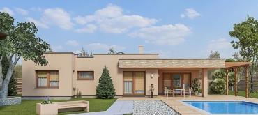 Projekty domov | Bezbarierový rodinný dom