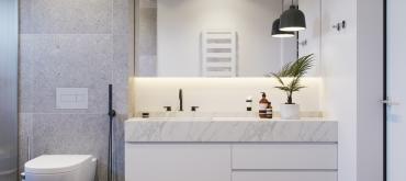 Projekty domov | Inšpirácie pre vašu bielo-čiernu kúpeľňu