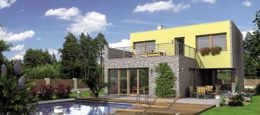 Projekty domov | Objavte čaro poschodového domu s podkrovím
