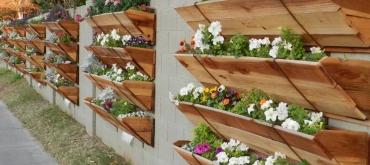 Projekty domov | Drevené kvetináče dodajú záhrade ten správny šmrnc