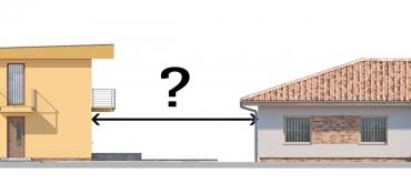 Projekty domov | Aké odstupy od susedných stavieb je potrebné dodržať?
