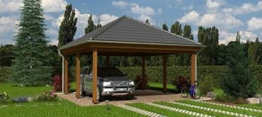 Projekty domov | Prístrešok pre automobily