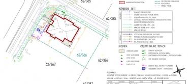 Projekty domov | Situácia osadenia stavby - Koordinačná situácia