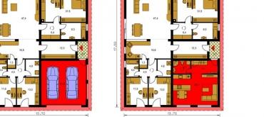 Projekty domov | Vzorové zmeny projektov rodinných domov