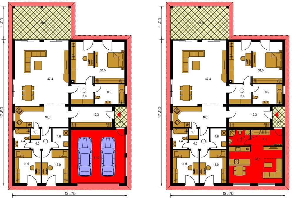 Alternatíva k projektu - bytová jednotka