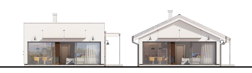 Zmena tvaru strechy - Bungalow 168
