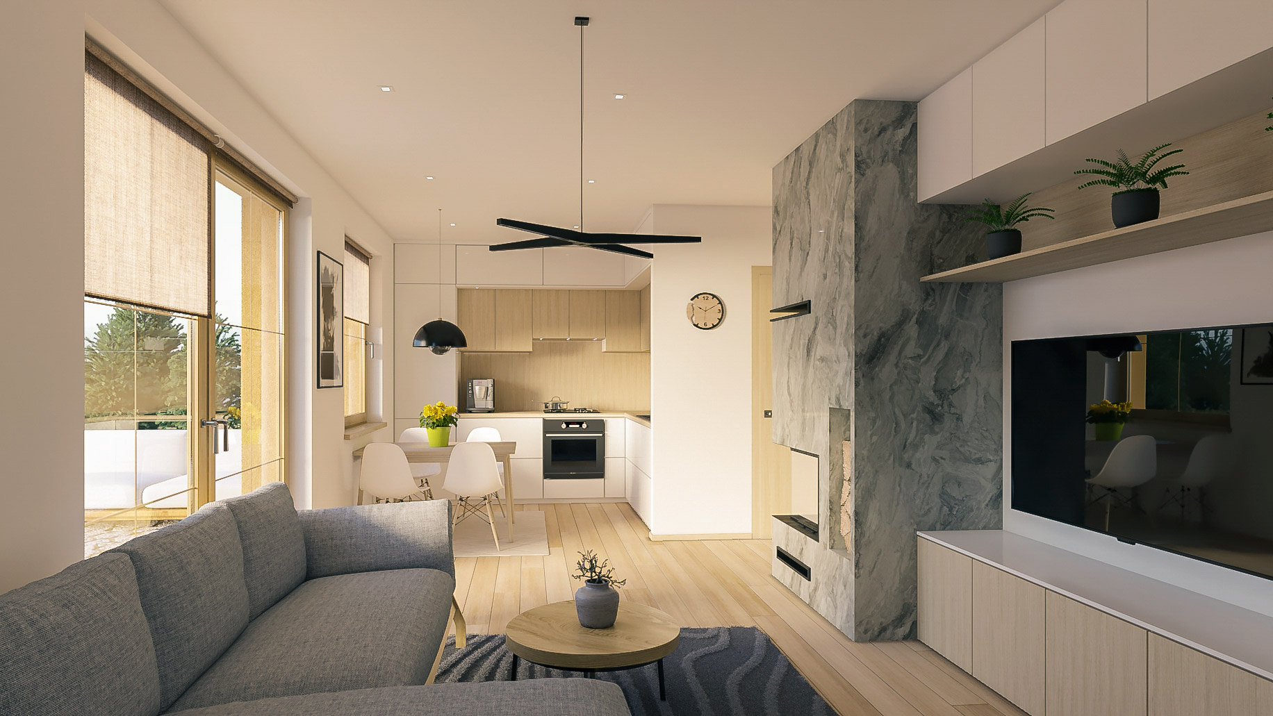 Bungalow 218 - interiér 2