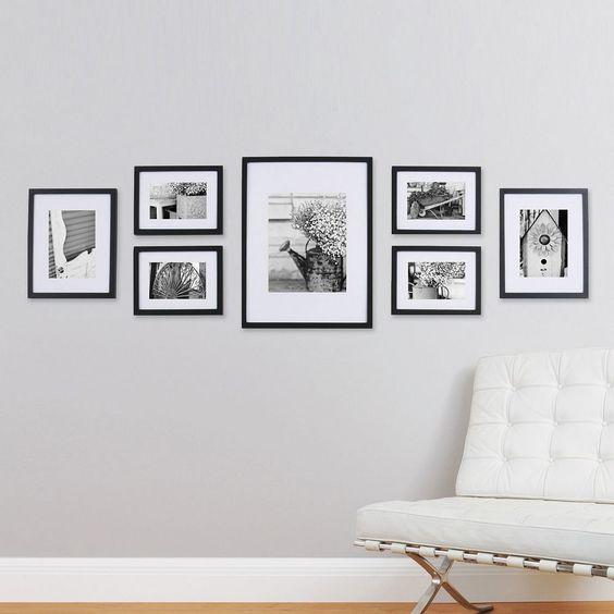 Využite stenu ako galériu