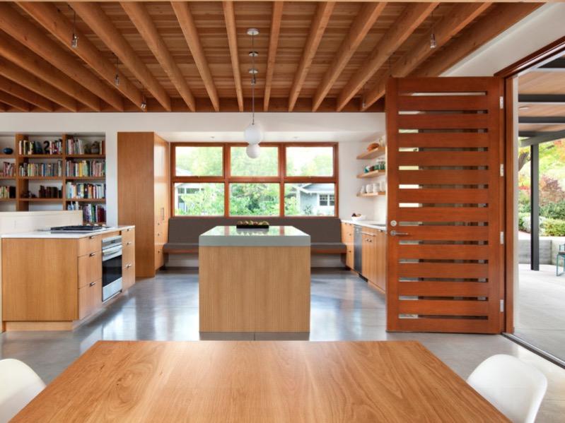 Betónové kuchynské podlahy