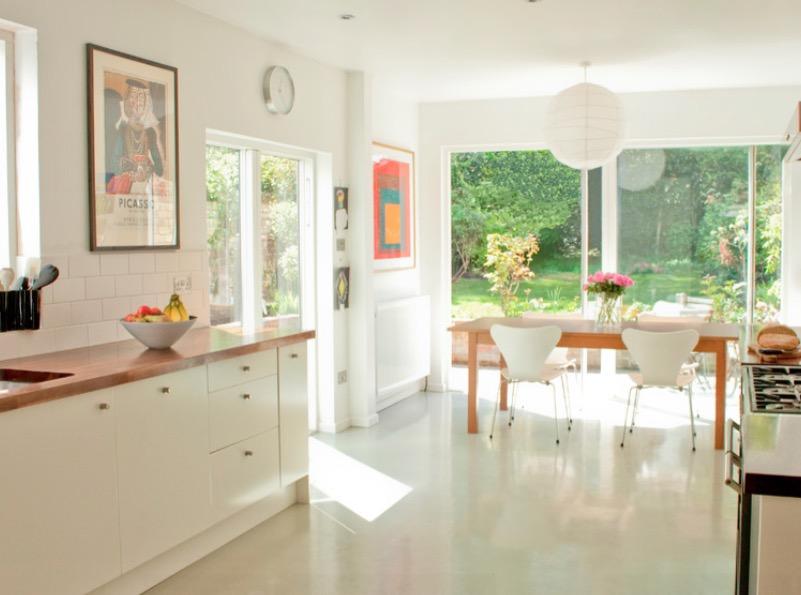 Gumené kuchynské podlahy