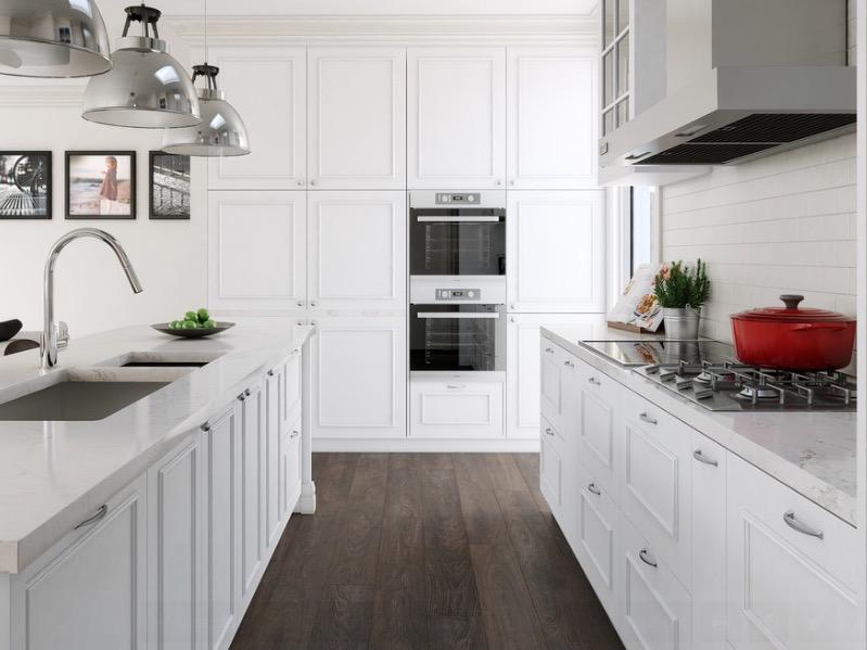 Kuchynské podlahy z masívneho dreva