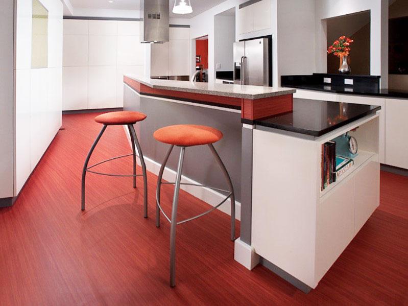 Vinylové kuchynské podlahy