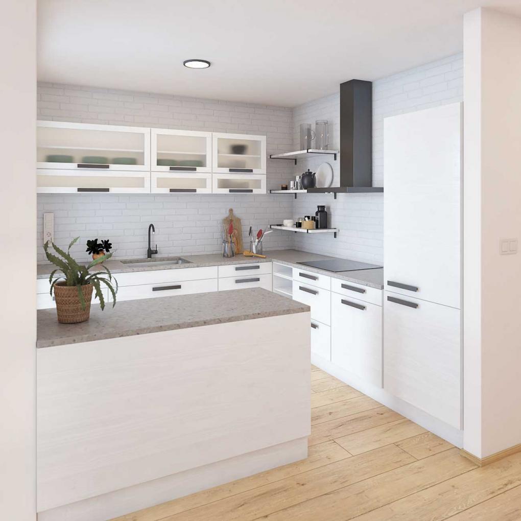Bungalow 222 - kuchyňa