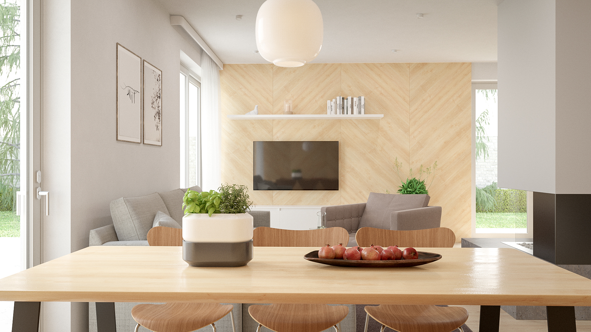 Interiér rodinného domu Trend 297 - č.2