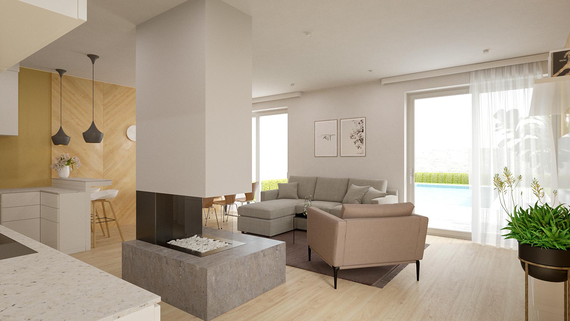 Interiér rodinného domu Trend 297 - č.3