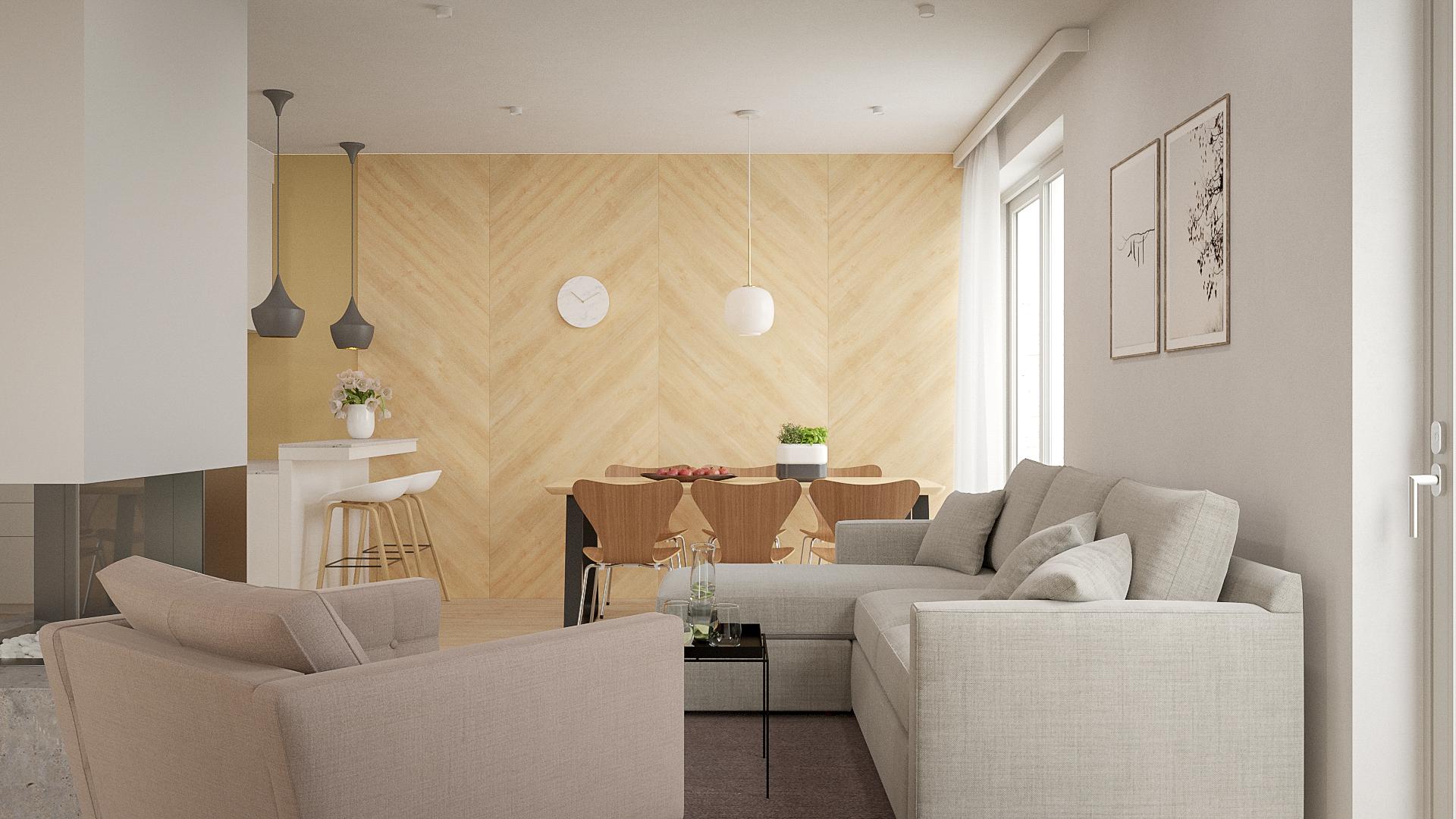 Interiér rodinného domu Trend 297 - č.1