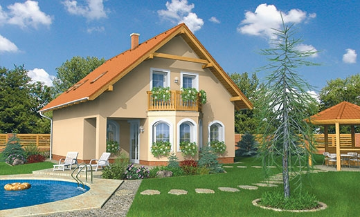 projekt domu AKTUAL