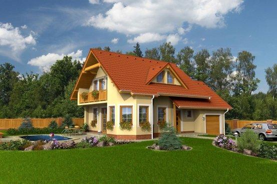 projekt domu ALFA