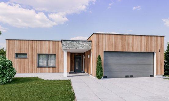 projekt domu ARKADA 1
