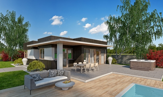 projekt domu ARKADA 10