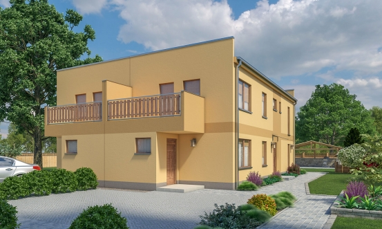 projekt domu ARKADA 13 DB