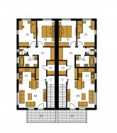 Pôdorys poschodia - ARKADA 13 DB