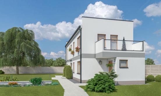 projekt domu ARKADA 13