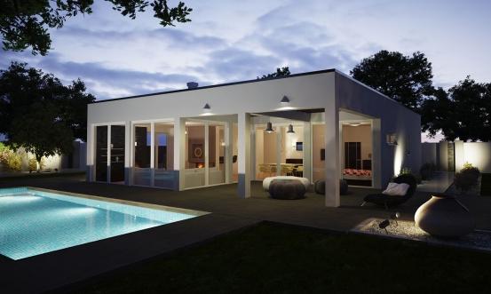 projekt domu ARKADA 5