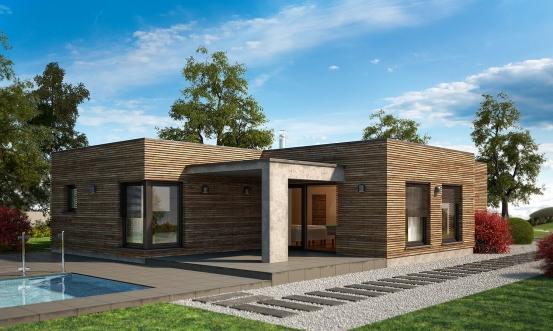 projekt domu ARKADA 6