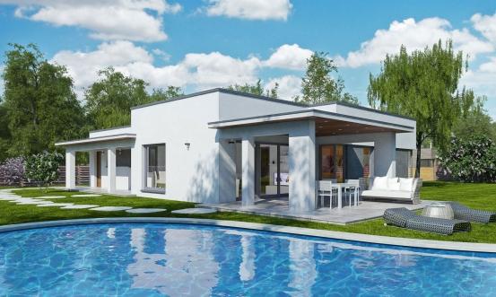 projekt domu ARKADA 7