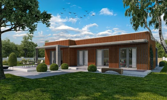 projekt domu ARKADA 8
