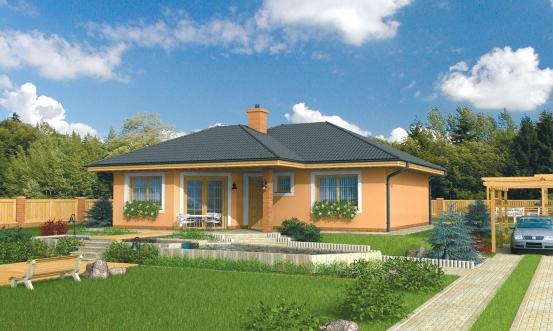 projekt domu BAHAMY