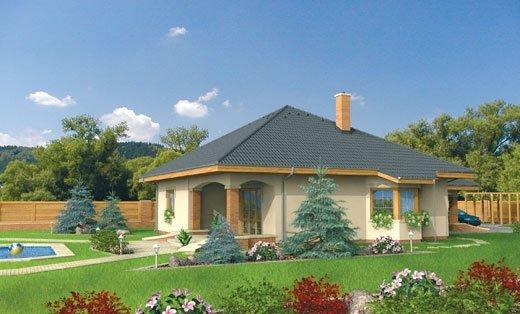 projekt domu BETA