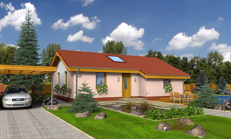 projekt domu BUNGALOW 10