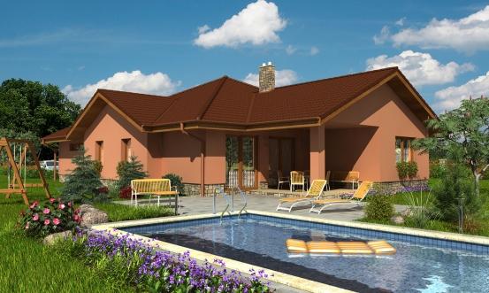 projekt domu BUNGALOW 100