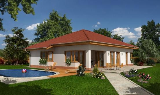 projekt domu BUNGALOW 101