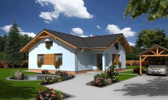 projekt domu BUNGALOW 102