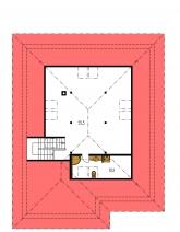 Pôdorys poschodia - BUNGALOW 103