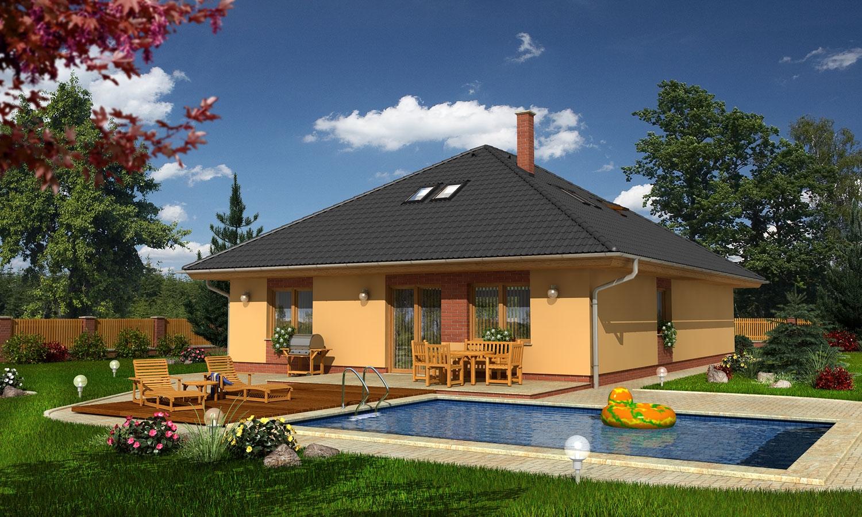 projekt domu BUNGALOW 103