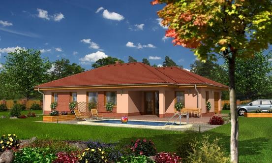 projekt domu BUNGALOW 104