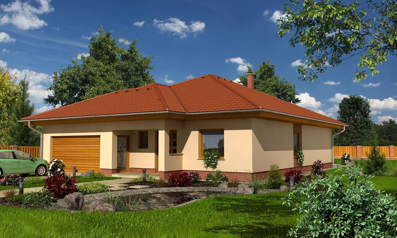 projekt domu BUNGALOW 105