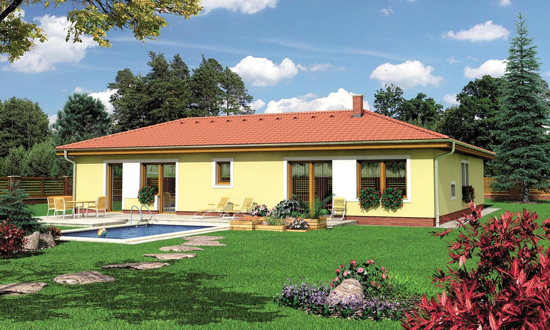 projekt domu BUNGALOW 107