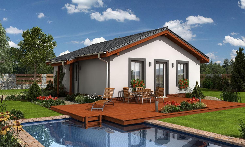 projekt domu BUNGALOW 11