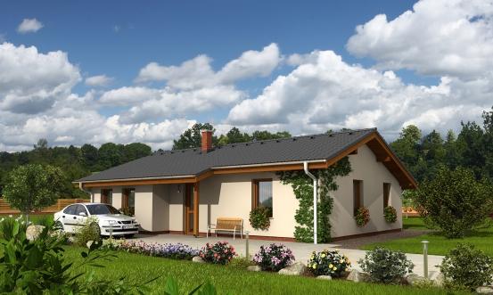 projekt domu BUNGALOW 111