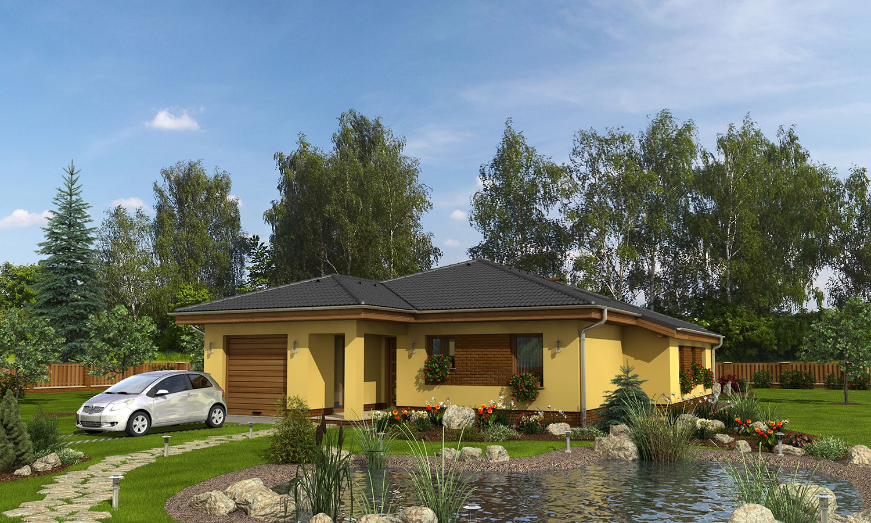 projekt domu BUNGALOW 112